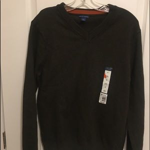 NWT Falls creek men's V-neck sweater long sleeve